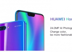 $369 with coupon for HUAWEI Honor 10 4G Phablet – Global Version – GREEN from GEARBEST
