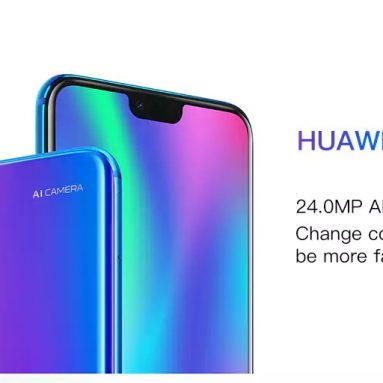 €251 with coupon for Huawei Honor 10 Global Version 5.84 inch 4GB RAM 128GB ROM EU SPAIN WAREHOUSE from BANGGOOD