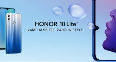 € 118 với phiếu giảm giá cho HUAWEI Honor 10 Lite 4G Phablet 6.21 inch Android P EMUI 9.0 Kirin 710 Octa Core 3GB RAM 32GB ROM 2 Camera phía sau 3400mAh Phiên bản toàn cầu Hỗ trợ Google - Sky Blue từ GEARBEST