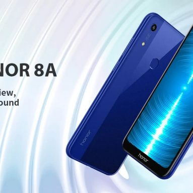 €104 with coupon for HUAWEI Honor 8A 4G Phablet 6.09 inch EMUI 9.0 Android P MT6765 Octa Core 2GB RAM 32GB ROM 13.0MP Rear Camera 3020mAh Global Version Support Google – Black from GEARBEST