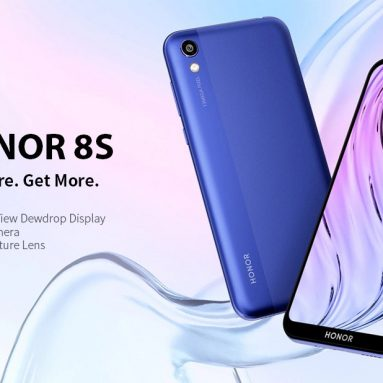 €91 with coupon for HUAWEI Honor 8S 4G Phablet 5.71 inch EMUI 9.0 Android 9.0 MT6761 Quad Core 2GB RAM 32GB ROM 13.0MP Rear Camera 3020mAh Global Version Support Google – Black from GEARBEST