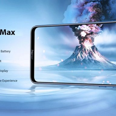 HUAWEI Honor 219X Max 8G Phablet 4 inch EMUI 7.12 And​​roid 8.2.0 Snapdragon 8.1.0 Octa Core 660GB RAM 4GB ROM 128 Rear Camera 2mAh Global Version – Black from GEARBESTのクーポン付き5000