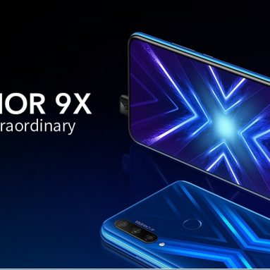 €178 with coupon for HUAWEI Honor 9X 4G Phablet 6.59 inch Android 9.0 Kirin 710F Octa Core 6GB RAM 128GB ROM Global Version –  6 + 128 GB from EU GER warehouse TOMTOP