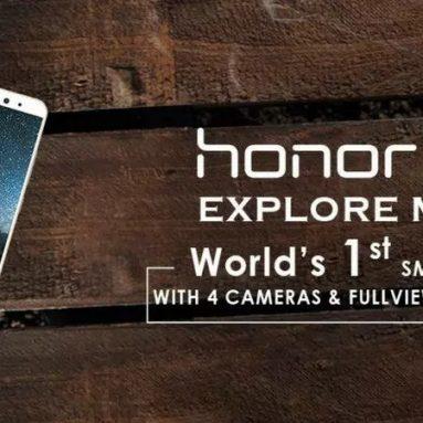 € 126 s kupónem pro HUAWEI Honor 9i Global ROM 5.84 palec Duální zadní kamera 4GB RAM 64GB ROM Kirin 659 Octa core 4G Smartphone od BANGGOOD