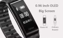 $24 with coupon for HUAWEI Honor A2 Smart Bracelet – BLACK from GearBest