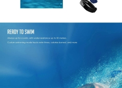 $18 with coupon for HUAWEI Honor Band 3 Smartband – BLACK from GearBest