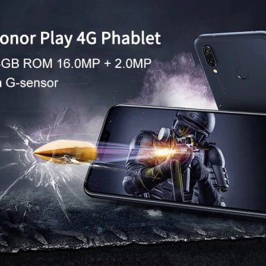 €247 with coupon for HUAWEI Honor Play 4G 4GB RAM 64GB ROM 16.0MP Front Camera Fingerprint Sensor Phablet Global Version – BLUE from GearBest