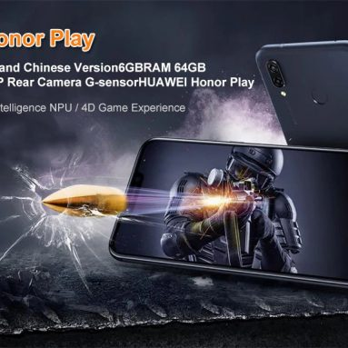 $399 with coupon for HUAWEI Honor Play 4G Phablet English and Chinese Version – LILAC from GearBest