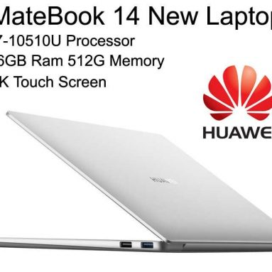 1209 $ z kuponem na HUAWEI MateBook 14 2020 Laptop Intel Core i7-10510U Quad Core 14 ″ IPS Screen 2160 × 1440 GeForce MX250 Windows 10 16GB RAM 512GB SSD od GEEKBUYING