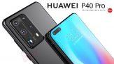 676 יורו עם קופון עבור HUAWEI P40 Pro גרסה גלובלית 6.58 אינץ '50 מגה פיקסל מצלמה אחורית 8GB 256GB WiFi 6 NFC Kirin 990 5G טלפון חכם Octa Core מבונגגוד