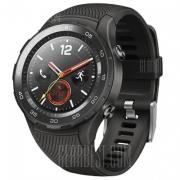 $ 269 med kupong för HUAWEI WATCH 2 4G Smartwatch Telefon Kinesisk Version - BLACK från GearBest