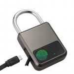 € 17 mit Gutschein für HUITEMAN Smart Fingerprint Lock Diebstahlsicheres Türschloss USB-Aufladung Wasserdichtes schlüsselloses Vorhängeschloss 0.5 Sekunden Entsperren des Reisegepäckschlosses von BANGGOOD