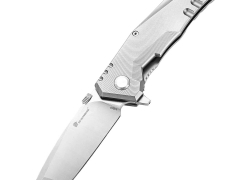 $85 with coupon for HX OUTDOORS ZD – 005 Frame Lock Pocket Folding Knife  –  GRAY from GearBest