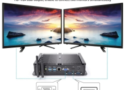 €290 with coupon for HYSTOU P04 i5 4200U 8GB DDR3 256GB SSD Mini PC – Black from BANGGOOD