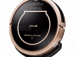 $169 with coupon for Haier XShuai T370 Robotic Vacuum Cleaner  –  EU PLUG  BLACK from GearBest