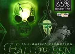 Lowest to $1.39 For Halloween LED Lighting Promotion from BANGGOOD TECHNOLOGY CO., LIMITED