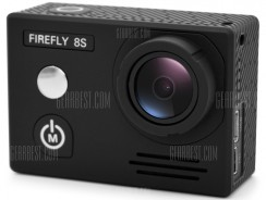 $95 with coupon for HawKeye Firefly 8S 4K WiFi Sports Camera 170 Degree FOV  – 170 DEGREE LENS BLACK from GearBest