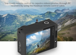 €95 with coupon for Hawkeye Firefly 8S 4K 170° FOV Wide Angle FPV Sport WiFi Camera from TOMTOP