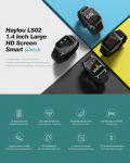 €27 with coupon for Haylou LS02 1.4inch Ture Color Large Screen 320ppi Resolution 12 Sports Modes 30Days Long Standby bluetooth 5.0 Smart Watch Global Version from BANGGOOD