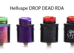 $20 with cuopon for Hellvape DROP DEAD RDA – BLACK from GearBest