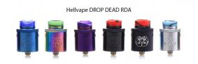 $ 20 مع cuopon لـ Hellvape DROP DEAD RDA - BLACK من GearBest