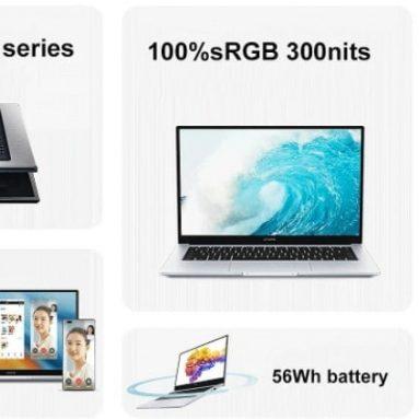 €९६० ऑनर मैजिकबुक १४ २०२१ रेजेन संस्करण १४.० इंच एएमडी आर७-५७००यू १६जीबी रैम ३२००एमएचजेड ५१२जीबी एनवीएमई एसएसडी ३००nits के लिए कूपन के साथ १००% sRGB ५६Wh बैटरी वाईफाई६ कैमरा बैकलिट फिंगरप्रिंट पूर्ण विशेषताओं वाला टाइप-सी फास्ट चार्जिंग नोटबुक बैंगगूड से