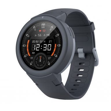 €65 with coupon for Amazfit Verge Lite Bluetooth Sports Smartwatch Global Version( Xiaomi Ecosystem Product ) – Light Slate Gray from GEARBEST