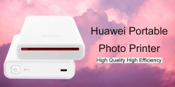 $36 with coupon for Huawei AR Printer Original Portable Photo Mini Pocket from GearBest