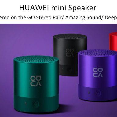 € 18 Orijinal Huawei CM510 için kupon ile Mini Kablosuz bluetooth Hoparlör Taşınabilir Ağır Bas TWS Stereo Hoparlör - BANGGOOD gelen Mor