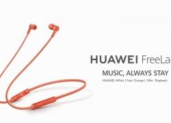 $ 76 với phiếu giảm giá cho Tai nghe nhét tai không dây Huawei FreeLace Bluetooth 5.0 HUAWEI Công nghệ HiPair từ GEARVITA