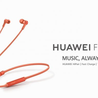 $76 with coupon for Huawei FreeLace Wireless In-ear Earphones Bluetooth 5.0 HUAWEI HiPair Technology from GEARVITA