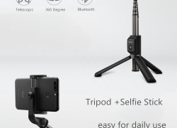 €22 with coupon for Huawei Honor 2 in 1 Mini Bluetooth Tripod 360 Degree Rotation Selfie Stick for Smartphones from BANGGOOD