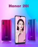 € 151 met coupon voor Huawei Honor 20i 6.21 inch 32MP camera vooraan 6GB 64GB Kirin 710 Octa core 4G Smartphone van BANGGOOD