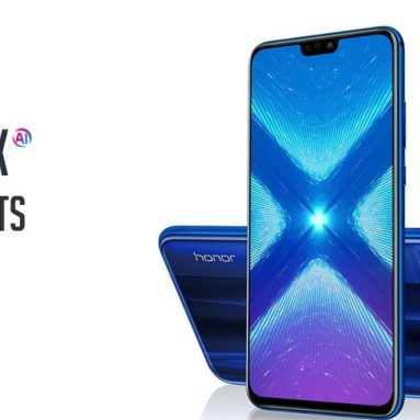 $199 with coupon for Huawei Honor 8X 4G Smartphone 4GB RAM 64GB ROM Global Version from GEARVITA