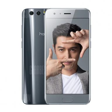 $301 with coupon for Huawei Honor 9 4G Smartphone International Version BLACK from GearBest