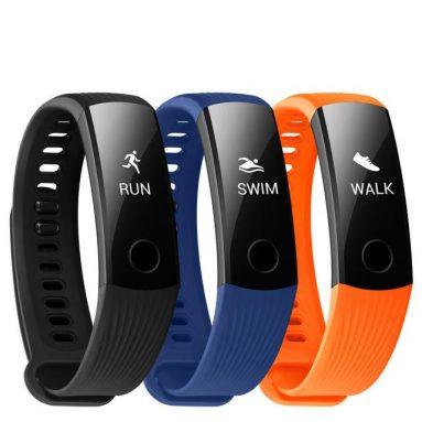 € 11 với phiếu giảm giá cho Huawei Honor Band 3 Thời gian thực HR Monitor 5ATM Waterproof 30 Days Standby Fitness Smart Watch Band - Đen từ BANGGOOD
