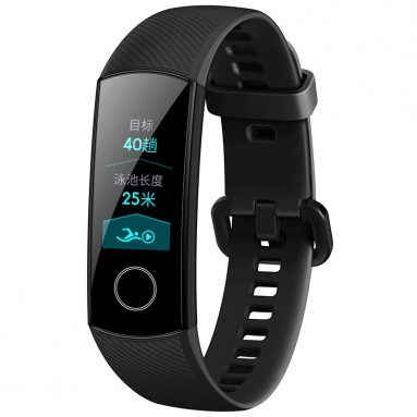 €28 with coupon for Huawei Honor Band 4 0.95 AMOLED 2.5D Smart Watch Bracelet – Black from BANGGOOD