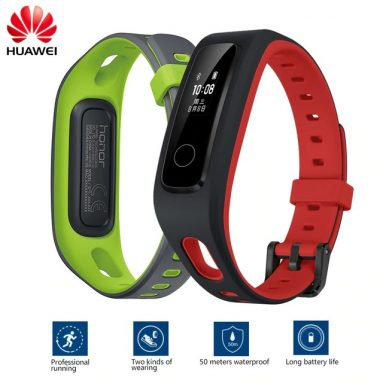 €17 with coupon for Huawei Honor Band 4 Running Version from BANGGOOD