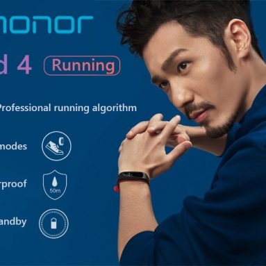 €13 with coupon for Huawei Honor Band 4 Smart Wristband Running Version from GEARVITA