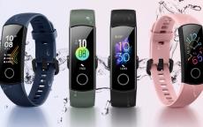$ 28 cu cupon pentru Huawei Honor Band 5 Versiune globală Oxigen de sânge Oxigen de sânge AMOLED Ecran tactil înotat Postura de detectare a ritmului cardiac Ceas inteligent - Negru de la BANGGOOD