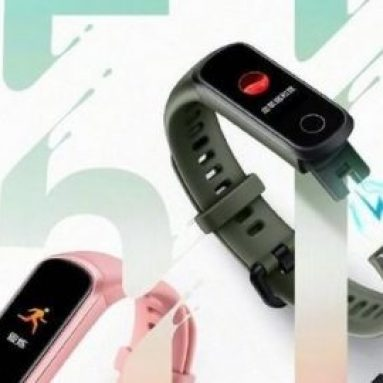 € 27 con cupón para Huawei Honor Band 5i Full Touch Wristband SpO2 Blood Oxygen Sleep Monitor USB Charging Smart Watch Versión internacional - Negro de BANGGOOD