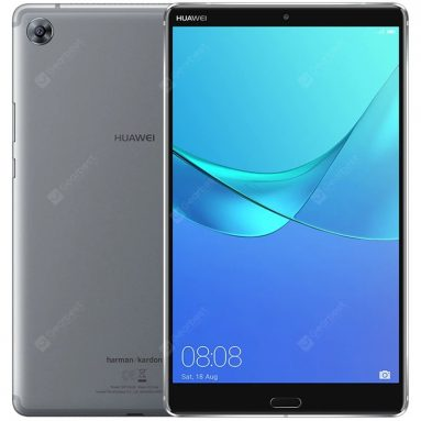 €309 with coupon for Huawei M5 4G Phablet 8.4 inch – GRAY from GearBest