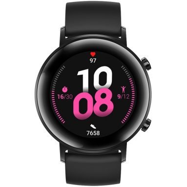 €207 with coupon for [bluetooth 5.1] Huawei WATCH GT 2 Sport Version 42MM Wristband Kirin A1 Chip 15 Sport Modes Music Playback Health Monitor Smart Watch from BANGGOOD