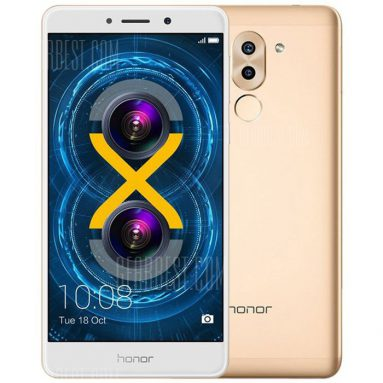 $157 with coupon for Huawei Honor 6X 4G Phablet – GLOBAL VERSION from GearBest