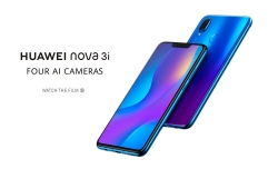 $ 239 med kupon til Huawei nova 3i 4G Phablet Global Version - PURPLE fra GearBest