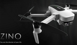 €259 with coupon for Hubsan H117S Zino GPS 5.8G 1KM FPV with 4K UHD Camera 3-Axis Gimbal RC Drone – RTF from GearBest