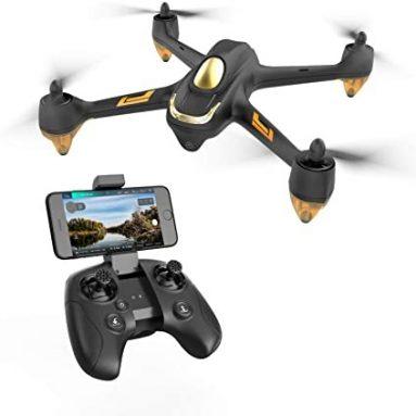 """€ 101 עם קופון ל- Hubsan H501M X4 Waypoint WiFi FPV Brushless GPS עם 720P HD מצלמה RC מזל""""ט Quadcopter RTF - מתג מצב מ BANGGOOD"""