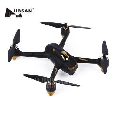 $194 with coupon for Hubsan H501S X4 Brushless Drone  –  BLACK US PLUG  COLORMIX from GearBest
