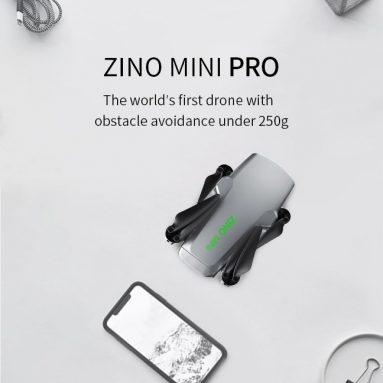 379 € s kuponom za Hubsan ZINO Mini PRO 249g GPS 10KM FPV s 4K 30fps Kamera 3-osni Gimbal 3D Osjetnik prepreka 40min Vrijeme leta RC Drone Quadcopter RTF - Bez vreće za pohranu 64GB Jedna baterija od BANGGOOD-a