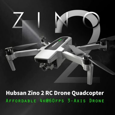 388 € με κουπόνι για Hubsan Zino 2 LEAS 2.0 GPS 8KM 5G WiFi FPV with 4K 60fps UHD Camera 3-axis Gimbal RC Drone Quadcopter RTF - With Storage Bag One Battery from BANGGOOD